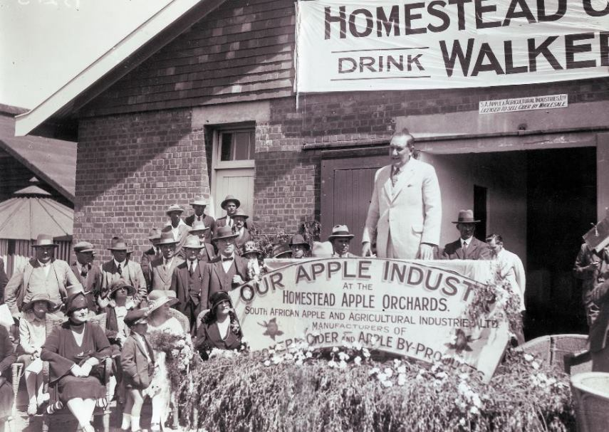 Walker Cider Factory Opening 1926